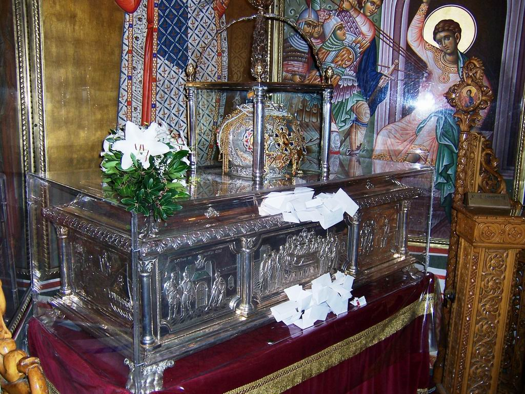 The theft of the relics of Saint Dimitri Basarabov from ...   Sf. Dimitrie